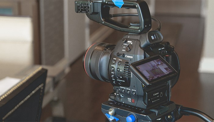 on-camera content