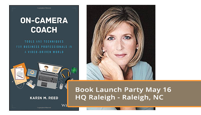On Camera Coach: Book Launch Party May 16