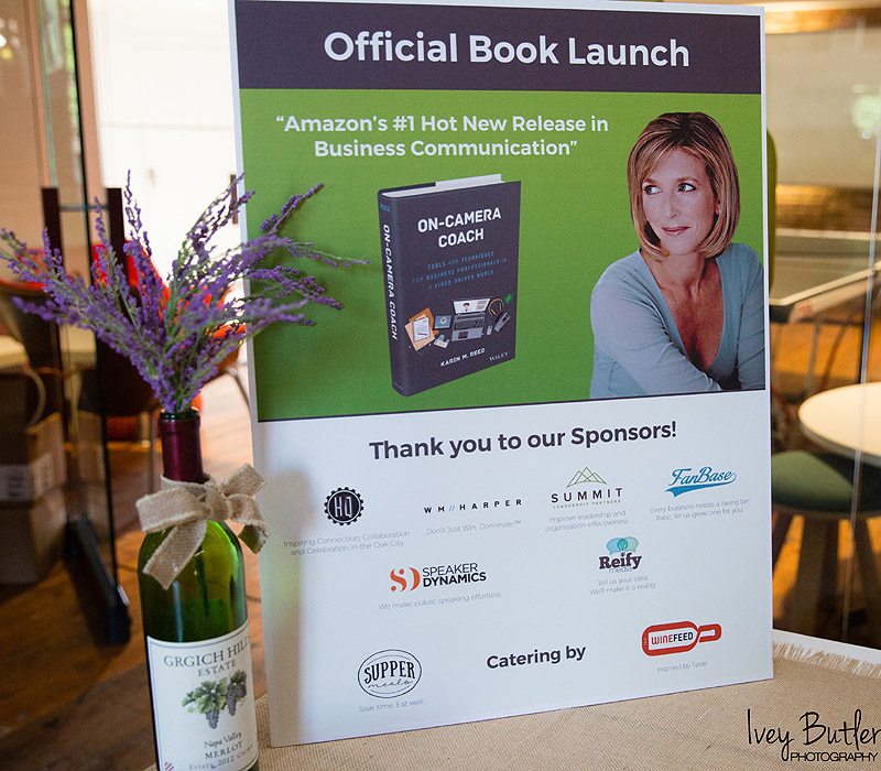 Karin's Book Launch Captured On Camera